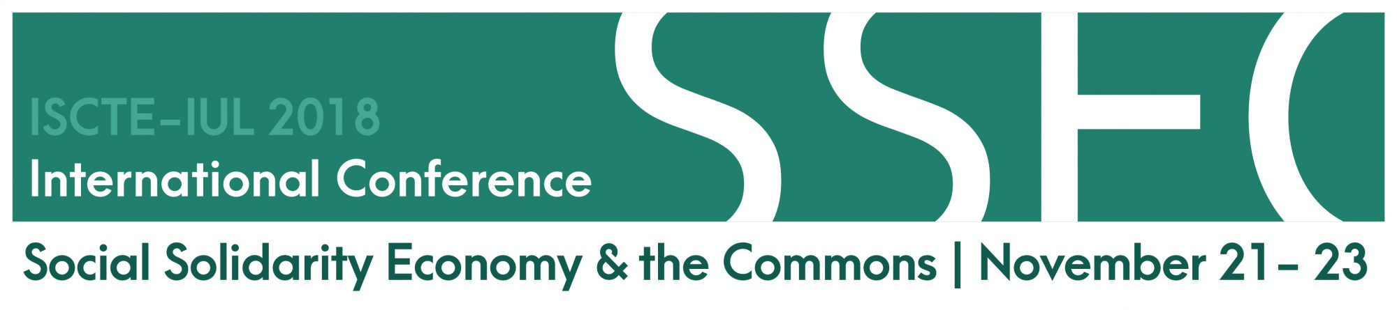 Social Solidarity Economy and the Commons     November 21-23